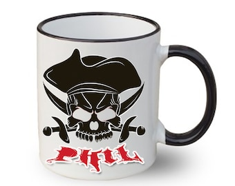 Happy Halloween Mug Mug Pirate