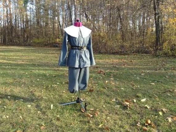 39-40bust,31-32waist Ladies/' sz 14 Pilgrim dress apron Puritan-READY-TO-SHIP collar and cap set Thanksgiving Day Plymouth Plantation