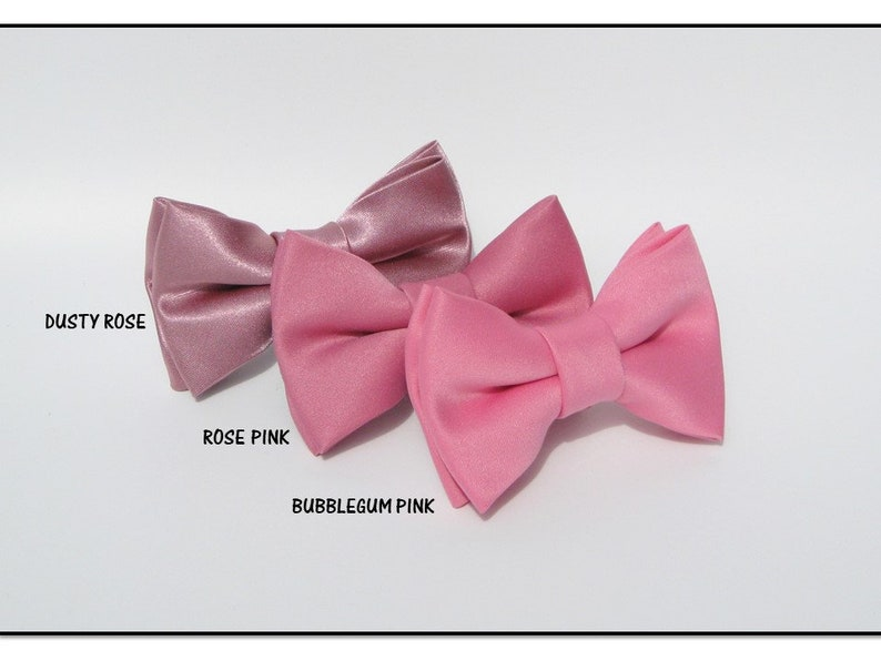 Blush Pink Dog Bow Tie~Dog Ring Bearer Bow Tie~Wedding Dog Collar~Wedding Dog Attire~Dog Bow Tie Collar~Dog Tuxedo~Best Dog~Blush Bow Tie~
