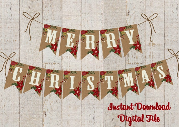 picture regarding Christmas Banner Printable named Xmas Banner Printable , Merry Xmas Banner , Xmas Banner Do-it-yourself , Merry Xmas Banner Printable , Whimsical Banner DIGTAL Report