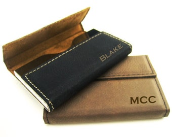 Business Card Wallet Etsy
