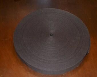 10 Yard Roll 1 1//2 inch Heavy Cotton Webbing Royal Blue Free Shipping!