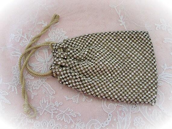 1920s Rhinestone Bag
