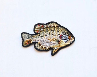 """Embroidered Brooch """"Perch"""""""