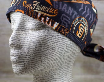 Mens Scrub Cap - San Francisco Giants