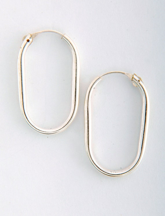 STERLING BALL HOOP EARRINGS 4 Sizes TAXCO MEXICO SILVER NEW