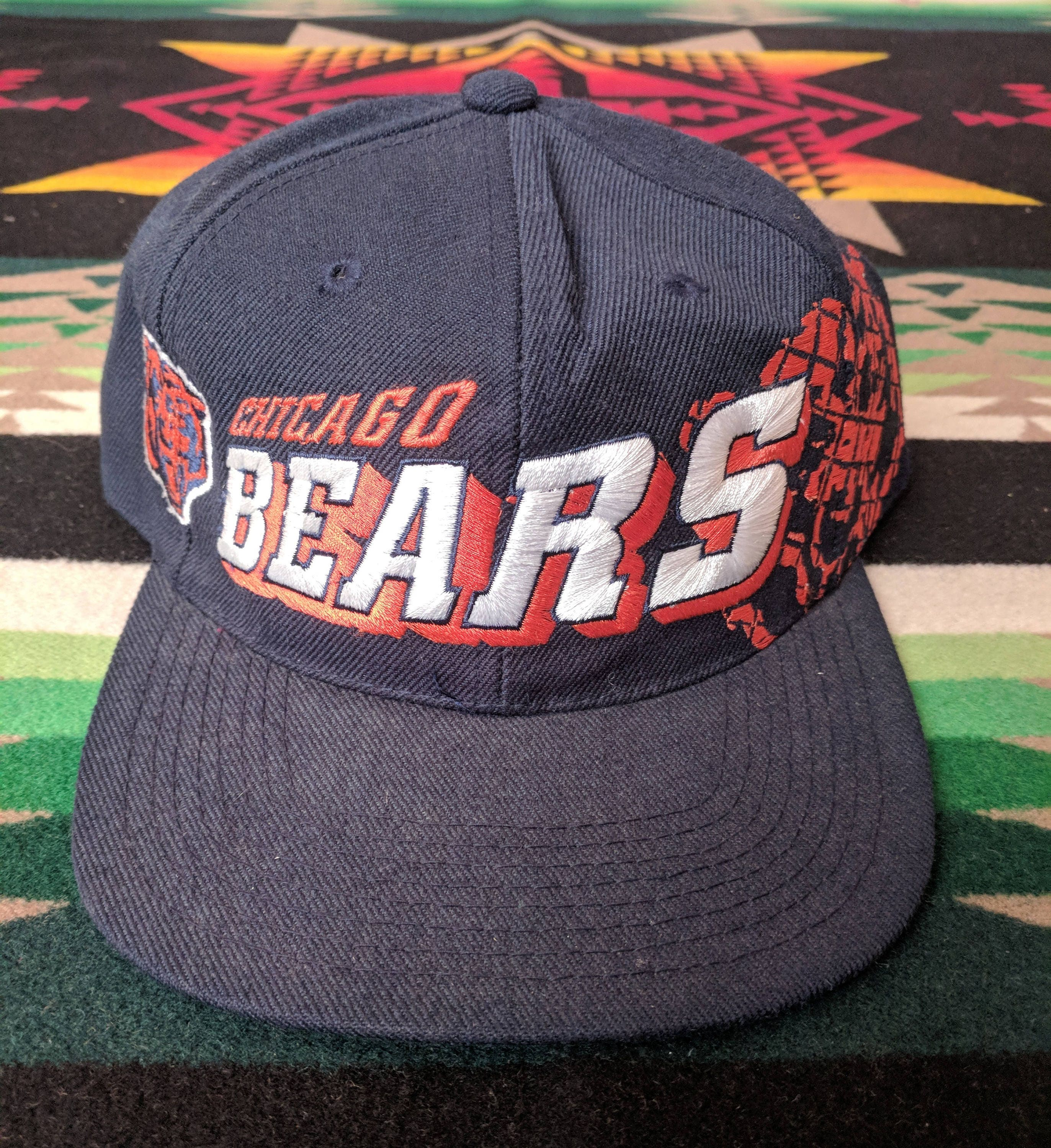 Vintage Chicago Bears Snapback Hat Sports Specialties NFL  ac1c512b5ae