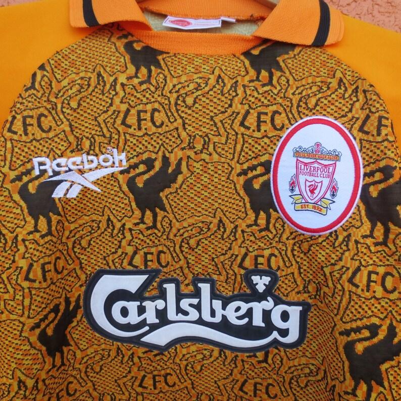 5f72d35267f Vintage Liverpool Football Club Reebok 90s XS 30 32 Futbol