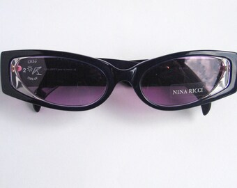 7b3a322e3be6 Nina Ricci chic vintage sunglasses made in France in the 90 s.