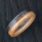 Wooden Ring - Skateboard Ring - Gift for him - BoardThing - Recycled Skateboards -  Wedding ring - Gift for her - Wood - Wooden Jewellery