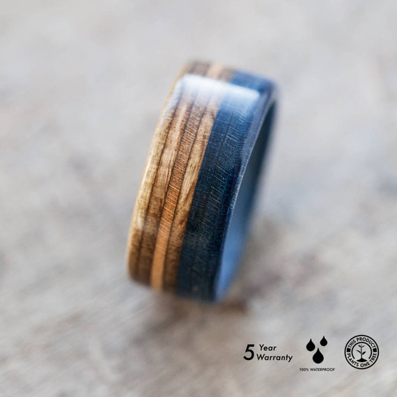 Wooden Ring Skateboard Ring Gift BoardThing