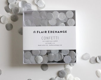 Party Confetti- Sterling