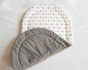 Topponcino, Montessori, Soft mattress for babies -- OEKO-TEX fabric -- Stars pattern
