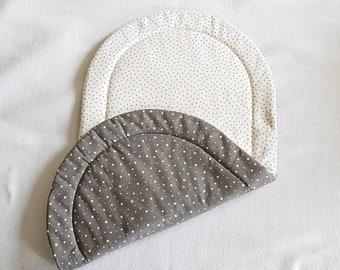 Topponcino, Montessori, Soft mattress for babies -- OEKO-TEX fabric -- Triangles pattern
