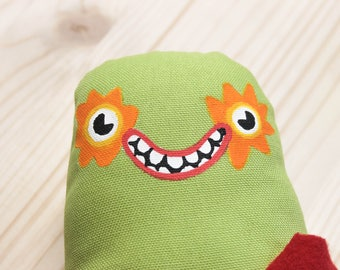Plushie Monster, Softie Doll, Plush Monster Toy, Plushie Toy, Stuffed Toy, Home Decor, Kawaii, Cute, Monster, Puppet, Designer toy, Toy