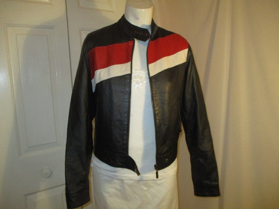 FJ leather moto jacket - image 8