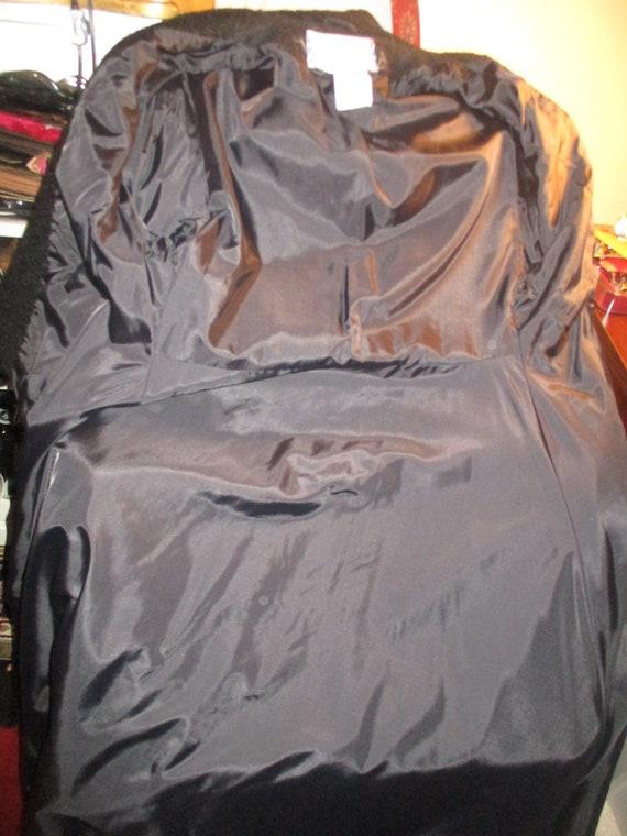 Topcoat Exclusive wool blend long coat - image 10