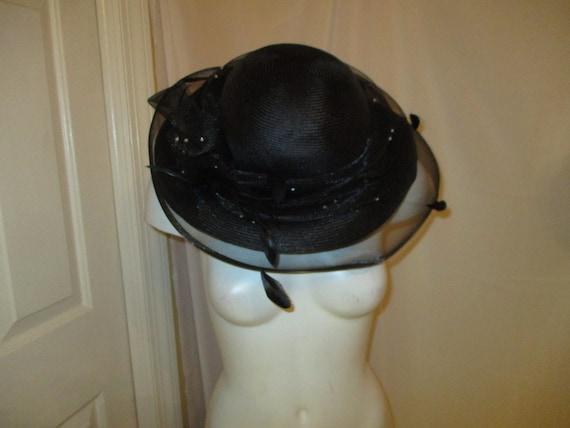 Daniele Meucci  wide brim straw derby hat - image 9