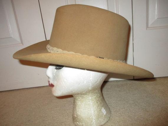 Resistol felt western cowboy hat - image 3