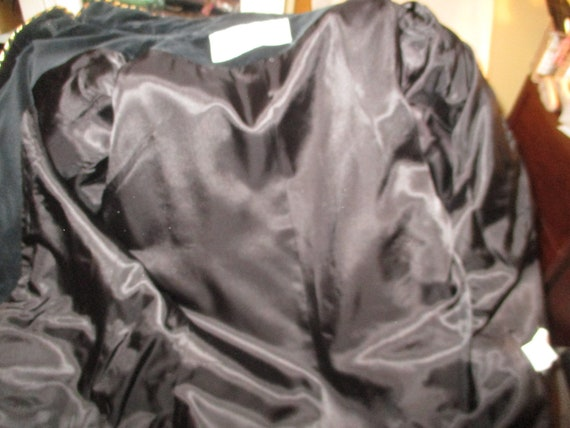 Evan Picone velvet military blazer/jacket - image 4