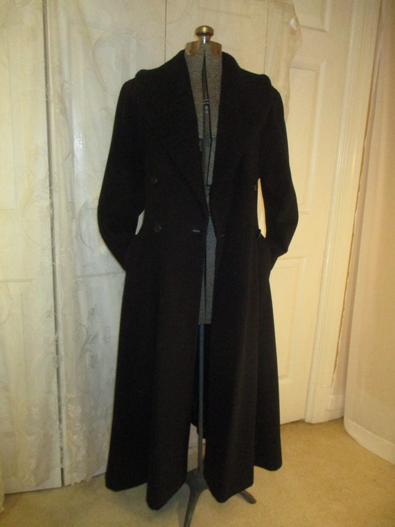 Topcoat Exclusive wool blend long coat - image 9