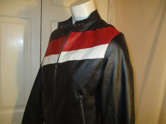 FJ leather moto jacket - image 5