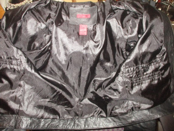 FJ leather moto jacket - image 10