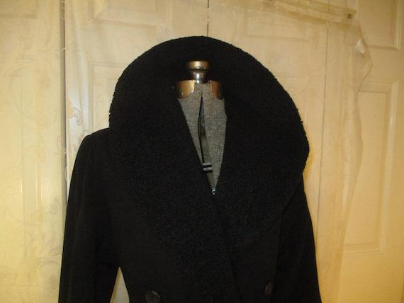 Topcoat Exclusive wool blend long coat - image 4