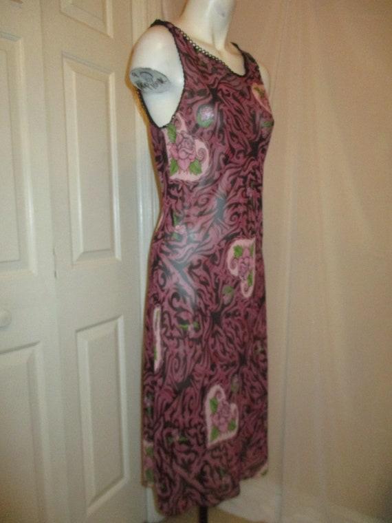 Betsey Johnson Franky For Betsey tattoo dress - image 3