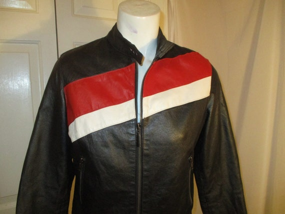 FJ leather moto jacket - image 3
