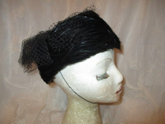 Betmar feathered hat