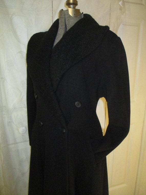 Topcoat Exclusive wool blend long coat - image 8