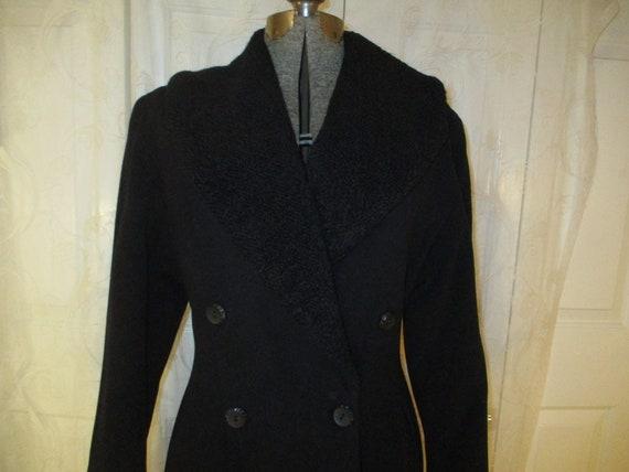 Topcoat Exclusive wool blend long coat - image 2