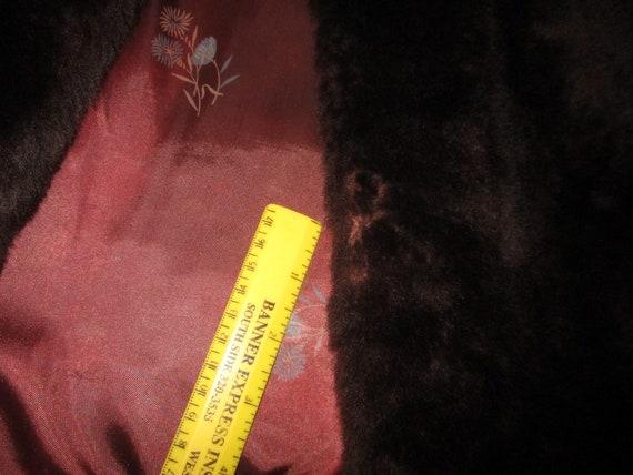 1940's mouton fur coat - image 7