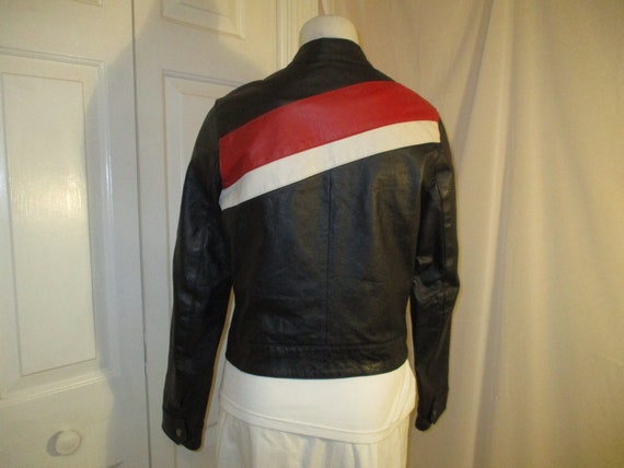 FJ leather moto jacket - image 6