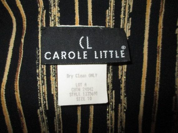 Carole Little sunflower print blouson dress - image 3