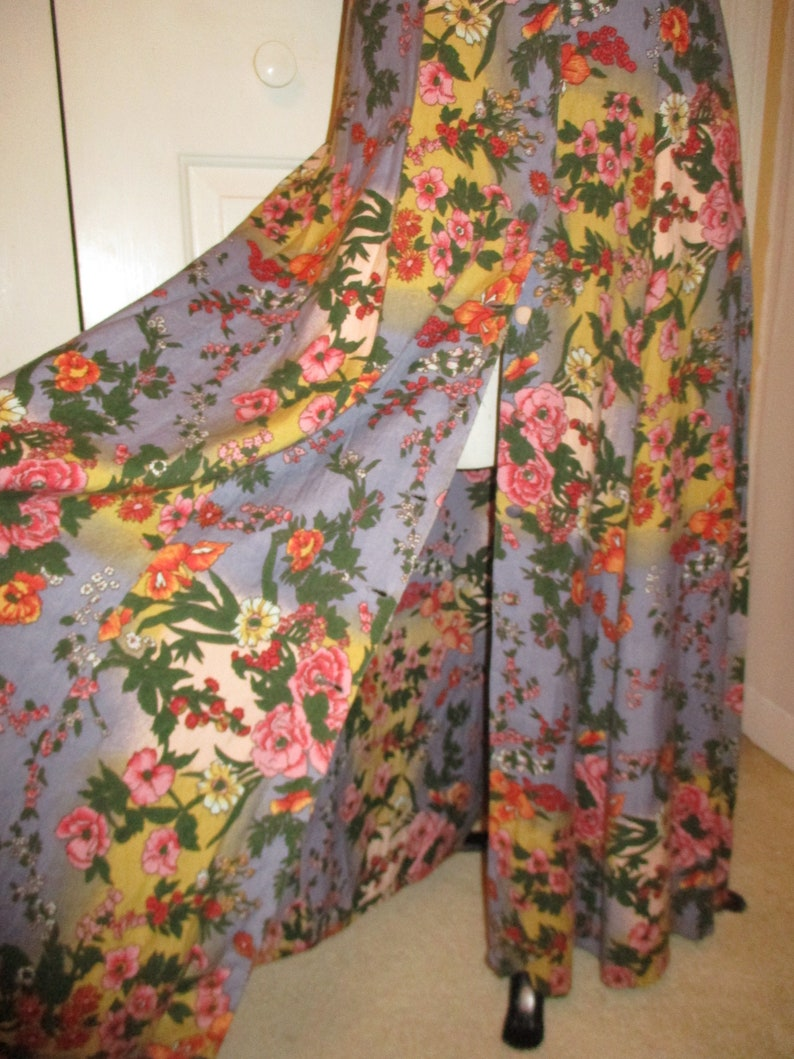 Boutique Europa floral print maxi dress