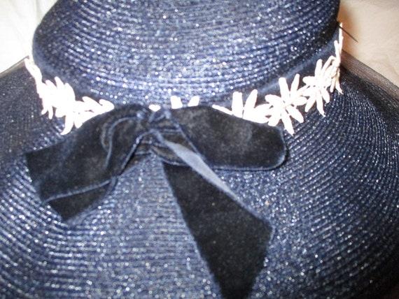 Fisk Chicago wide brim straw hat - image 8