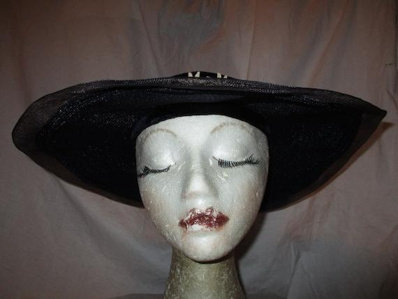 Fisk Chicago wide brim straw hat - image 3