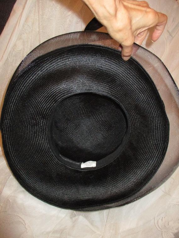 Daniele Meucci  wide brim straw derby hat - image 7