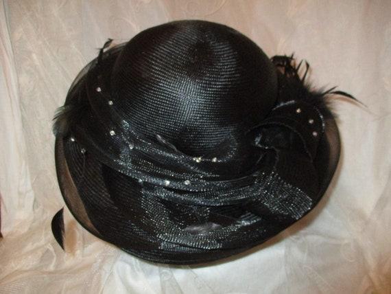 Daniele Meucci  wide brim straw derby hat - image 5