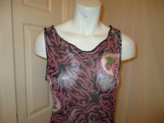 Betsey Johnson Franky For Betsey tattoo dress - image 2