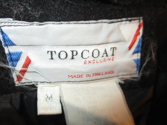 Topcoat Exclusive wool blend long coat - image 3