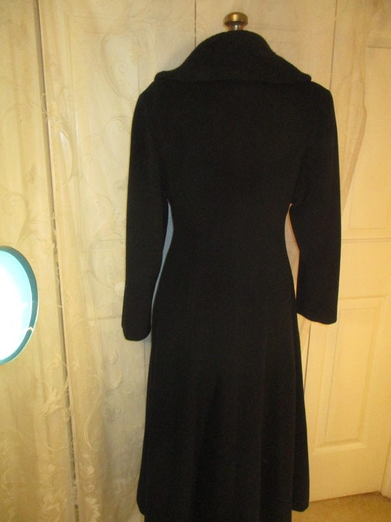 Topcoat Exclusive wool blend long coat - image 6