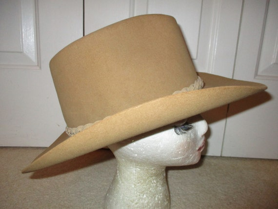 Resistol felt western cowboy hat - image 4