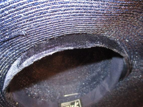 Fisk Chicago wide brim straw hat - image 9