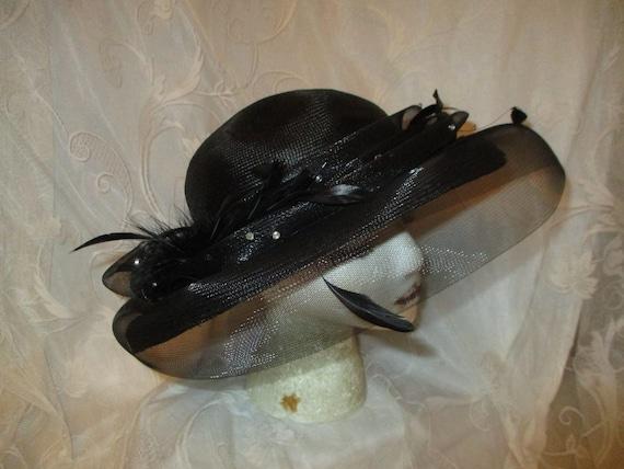 Daniele Meucci  wide brim straw derby hat - image 1