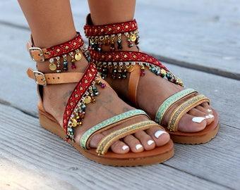 e149a7aeb Handmade leather sandals