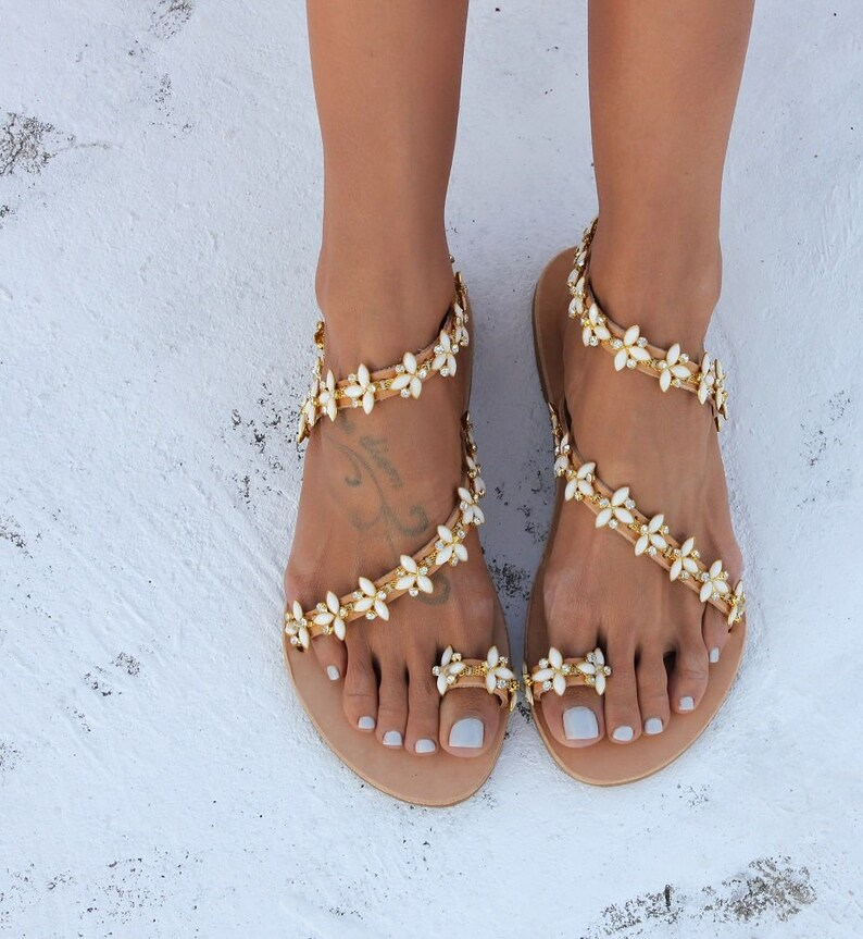 58ba941cddf5 SAMPLE SALE Size EU35 US4.5 Wedding sandals Wedding shoes