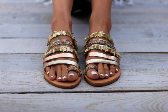 de1fbc21a6ec6 Sandals Leather sandals Handcrafted Greek sandals